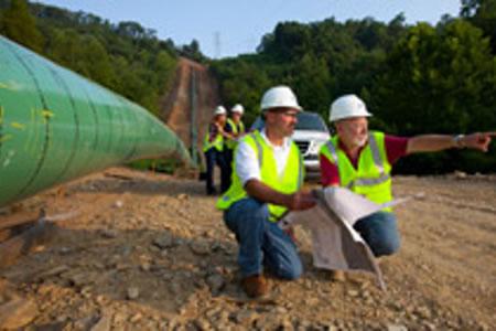 Работа для прораба на строительстве газопровода