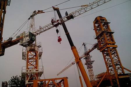 Работа для монтажника башенных кранов на строительстве
