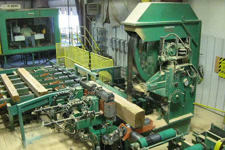 Работа для оператора ленточной пилорамы на производстве