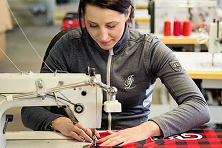 Работа для швеи на швейное предприятие