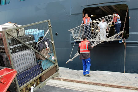 Работа для докера в порту
