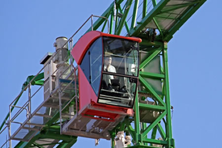 Работа для машиниста башенного крана на строительстве