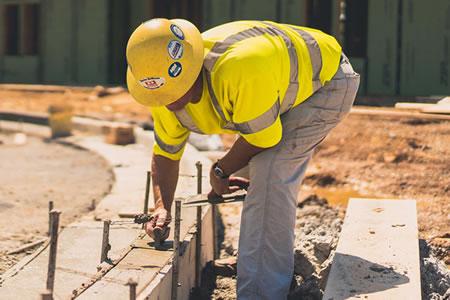 Вакансия для бетонщика на строительстве