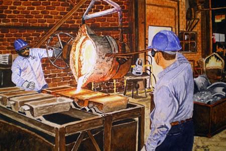 Вакансия для работника на литейном производстве