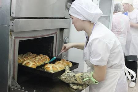 Работа для пекаря по производству хлебобулочных изделий