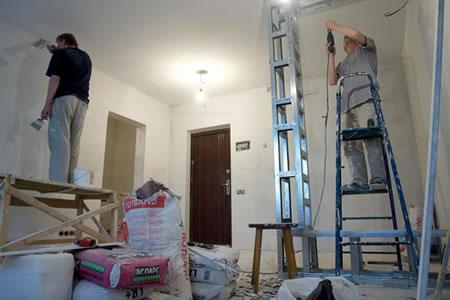 Работа строителя-универсала на реконструкцию помещений