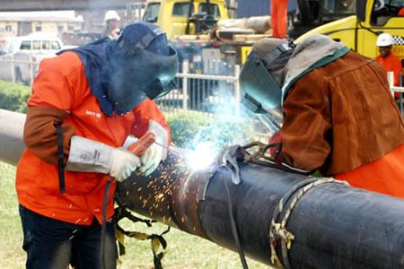 Работа для сварщика газовых труб