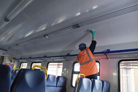 Работа для мойщика-уборщика подвижного состава железной дороги