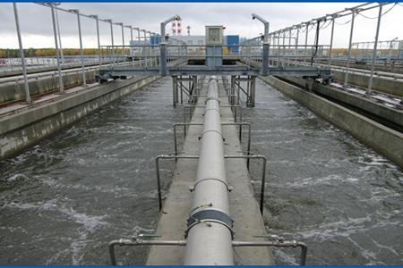 Работа на предприятии по очистке сточных вод