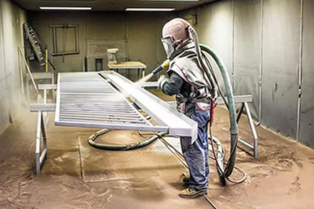 Работа для оператора установок пескоструйной очистки металла
