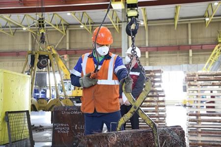 Работа для прессовщика лома и отходов металла